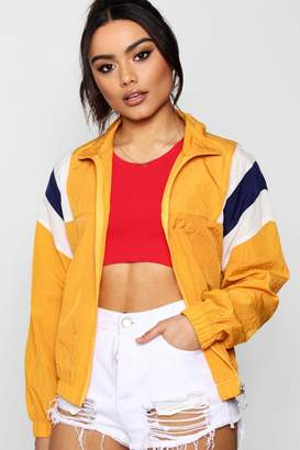 boohoo Panelled Windbreaker