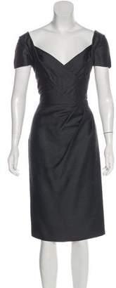 DSQUARED2 V-Neck Midi Dress