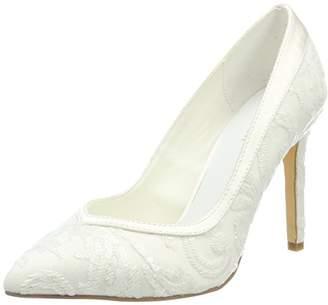 Menbur Wedding Women's Giovanna Closed Toe Heels,8.5 UK