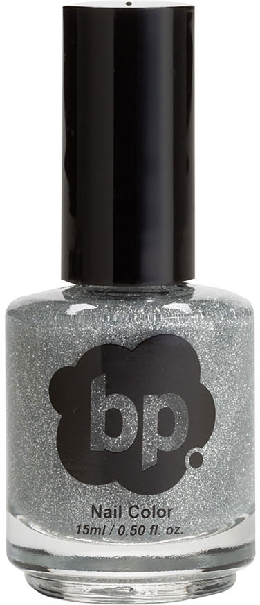 BP 'Perfect Polish' Nail Lacquer Silver Glitter