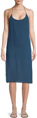 Mikoh Corsica Silk Mini Dress