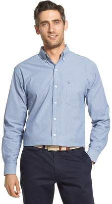Izod Men's Premium Essentials Classic-Fit Striped Button-Down Shirt