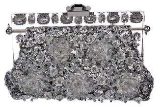 Dolce & Gabbana Embellished Vanda Chain-Link Evening Bag