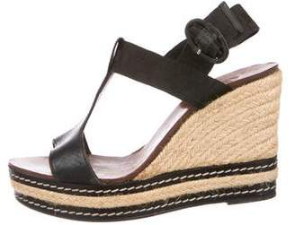 Castaner Leather Wedge Sandals