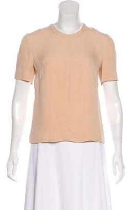 Cacharel Silk Short Sleeve Top