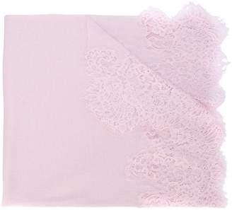 Ermanno Scervino lace appliqué scarf