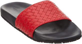 Bottega Veneta Lake Intrecciato Leather Sandal
