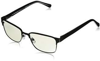 786a886401b Foster Grant Men s Donovan 1018298-100.COM Square Reading Glasses