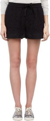 Sea Lace Fighter Shorts