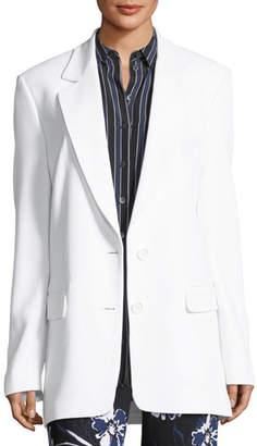 Michael Kors Two-Button Boyfriend Blazer