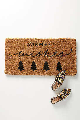 Anthropologie Warmest Wishes Doormat