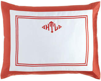 Home Treasures Standard Marco Sham with Monogram