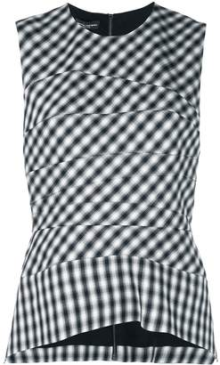 Narciso Rodriguez gingham top