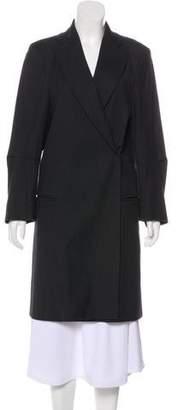 Ann Demeulemeester Structured Peak-Lapel Coat