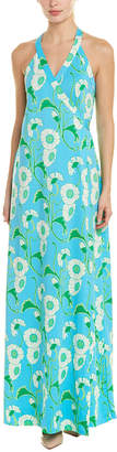 Julie Brown Wrap Maxi Dress