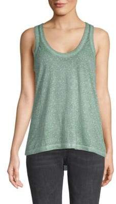 Zadig & Voltaire Deep Burn Sleeveless Top