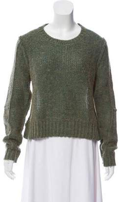 Acne Studios Semi-Sheer Long Sleeve Sweater