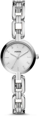 Fossil Kerrigan Mini Three-Hand Stainless Steel Watch