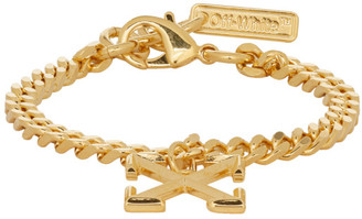 Off-White Off White SSENSE Exclusive Gold Arrow Bracelet