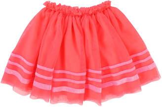 Billieblush Tulle Glitter-Striped Skirt, Size 4-8
