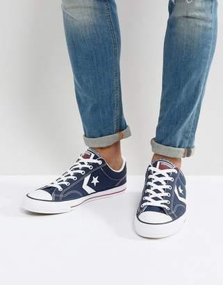 fcfbdea5a3e95b Converse Star player sneakers in blue 144150c