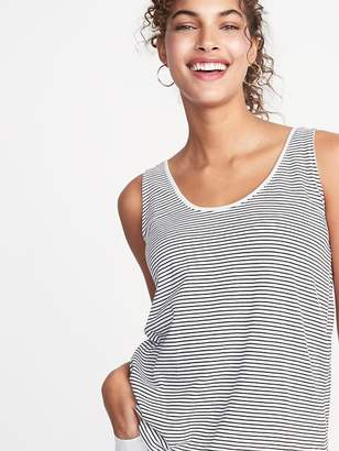 f682037fbb836 Old Navy Striped Scoop-Neck Jersey Tank for Women