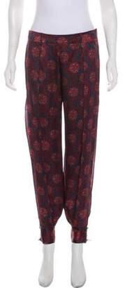 HANEY Silk Mid-Rise Skinny Pants Silk Mid-Rise Skinny Pants