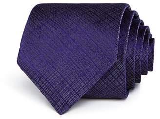 John Varvatos Tonal Grid Classic Tie