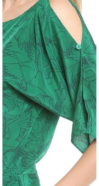 ALICE by Temperley Heron Print Jumpsuit