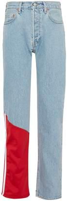 Vetements x Levi Strauss & Co. contrast panel patchwork jeans