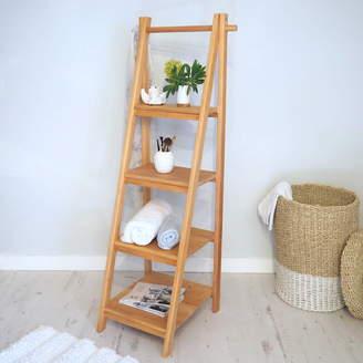 Rails Za Za Homes Wooden Shelving Ladder