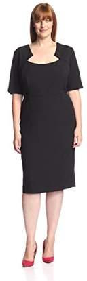 Society New York Women's Notch Neck Dress