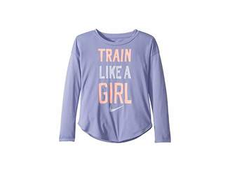 Nike Train Like a Girl Modern Long Sleeve Tee (Toddler)