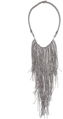 Fabiana Filippi tasseled choker necklace
