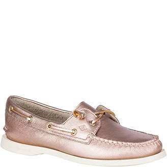 ef9e44746b40 Sperry Women s A O Vida Metallic Boat Shoe 090 ...