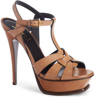 bdc06906050 Yves Saint Laurent Tribute Sandals - ShopStyle