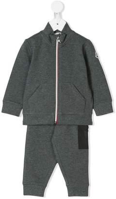 Moncler zipped sweatshirt and track pants set