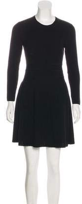 Theory Wool Textured Dress