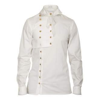 JIRI KALFAR - White Asymetrical Shirt