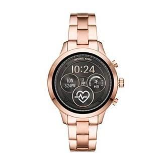 Michael Kors Women's 'Access Runway' Stainless Steel Plated Smart Watch