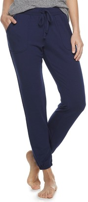 Sonoma Goods For Life Women's SONOMA Goods for Life French Terry Banded Bottom Sleep Pants