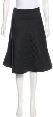 Max Mara Weekend Quilted Silk Skirt