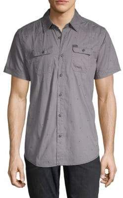 Buffalo David Bitton Sabooro Graphic Button-Down Shirt