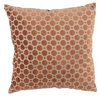 DecMode Decmode Modern 17 X 17 Inch Brown Throw Pillow