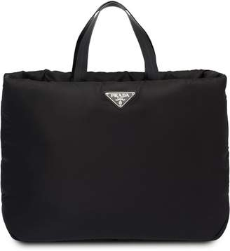 Prada Medium Padded nylon tote 1df8c6788f