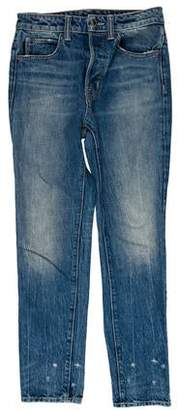 Helmut Lang Mid-Rise Straight Jeans