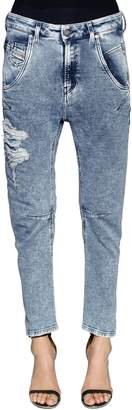 Diesel Relaxed Boyfriend Cotton Denim Jeans