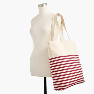 J.Crew Large everyday striped tote