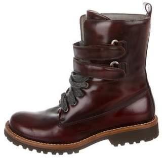Brunello Cucinelli Round-Toe Ankle Boots