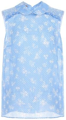 Miu Miu Printed blouse